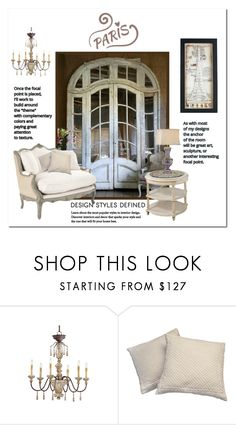 """My Paris Apartment"" by victorianheaven ❤ liked on Polyvore featuring interior, interiors, interior design, home, home decor, interior decorating, Murphy and WALL"