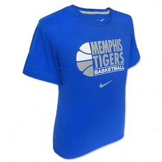 Nike Memphis Tigers Basketball T-Shirt  basketballclub Mamá De Baloncesto a03a3e735397a