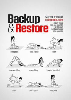 Backup & Restore Workout - Concentration - Full Body - Difficulty 2 Suitable for. - Backup & Restore Workout – Concentration – Full Body – Difficulty 2 Suitable for beginners - Yoga Fitness, Fitness Workouts, Health Fitness, Women's Fitness, Darebee, Sup Yoga, Mental Training, Quick Weight Loss Tips, Back Exercises