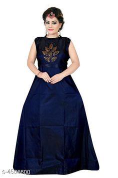 Gowns Stylish Taffeta Silk Diamond Work Women's Gown Fabric: Taffeta Silk Sleeve Length: Three-Quarter Sleeves Pattern: Printed Multipack: 1 Sizes: XL (Bust Size: 42 in Length Size: 55 in Waist Size: 38 in Hip Size: 43 in)  L (Bust Size: 40 in Length Size: 55 in Waist Size: 36 in Hip Size: 41 in)  XXL (Bust Size: 44 in Length Size: 55 in Waist Size: 40 in Hip Size: 45 in) Country of Origin: India Sizes Available: L, XL, XXL   Catalog Rating: ★4.1 (779)  Catalog Name: Stylish Taffeta Silk Diamond Work Women's Gowns CatalogID_651197 C79-SC1289 Code: 843-4506600-138