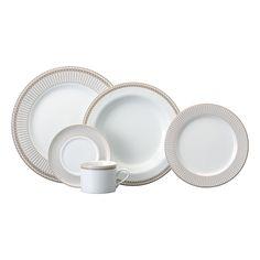 Aparelho de Jantar e Chá Vera 20 Peças - Presentes - Precolandia