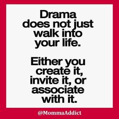 Everyone says they hate drama. But drama does not magically appear! You need to determine how it gets into your life, then take steps to keep it away from you and your family. . It is Friday the 13th! Are you superstitious? My husband is Native American and is crazy superstitious! Me...I step on cracks, walk under ladders  etc  . . #mommaaddict #drmomma #blogmom #doctormom #mommas #physician #earnosethroat #doctorsofinstagram #mombosses #momsoninstagram #momsofig #instamother #instamoms…