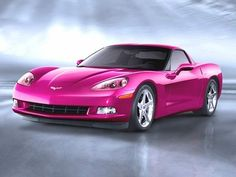 Pink Corvette. My dream car!
