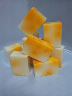 placenta with papaya cubes soap www.jbescentsandbubbles.com