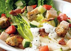 Bacon, lettuce, and tomato may be the finest combination ever introduced to sliced bread. We turn the bread into croutons, and introduce some turkey to the mix, for an awesome salad that's got style and substance