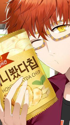 Seven with honey Buddha chip ^^