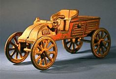 Busacca Gallery - A premier free online consignment service of quality works of art and antiques Antique Toys, Rare Antique, Vintage Toys, Vintage Antiques, Metal Toys, Tin Toys, Art Object, Cast Iron, 4 Wheelers