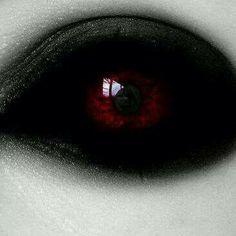 Inspiration for vampire doll or BJD eyes Demon Aesthetic, Character Aesthetic, White Eyes, Red Eyes, Dark Eyes, Dark Fantasy Art, Dark Art, Demon Eyes, Eye Art
