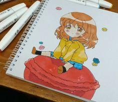 Chibi #Draw #Dibujo #Chibi #Rotulador #Art
