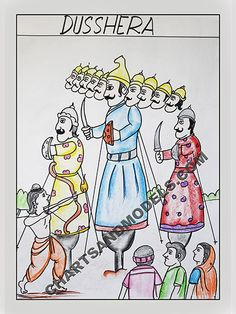 Buy Dusshera Charts Online In Delhi. Online Cgarts and Models offers buy Dusshera Charts Online for your children.