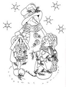Country Seasons Vol 5 - fall & freezin' - giga artes country - Picasa Web Albums Arte Country, Pintura Country, Christmas Coloring Pages, Coloring Book Pages, Christmas Embroidery Patterns, Tole Painting Patterns, Colouring Pics, Outline Drawings, Appliques