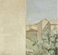 Giorgio Morandi 1890-1964, CORTILE DI VIA FONDAZZA, signed oil on canvas