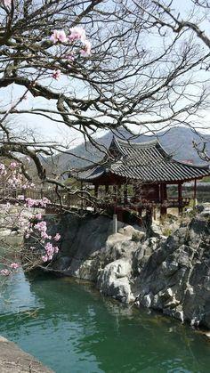 Geoyunjeong in Hamyang, Korea  함양 거연정