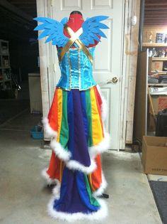 mylittlepony+cosplay | Rainbow Dash Dress - My Little Pony - Cosplay | Nerdy Cuteness, Funni ...