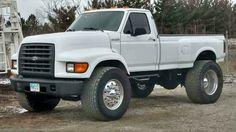 Cool idea to put on the truck Mini Trucks, New Trucks, Custom Trucks, Cool Trucks, Dually Trucks, Ford Pickup Trucks, Chevy Trucks, Ford Diesel, Diesel Trucks