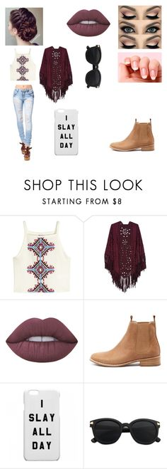 """Untitled #208"" by its-calum-from-youtube ❤ liked on Polyvore featuring H&M, Lime Crime, Morphe and Mollini"