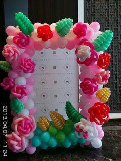 Balloon flower decor