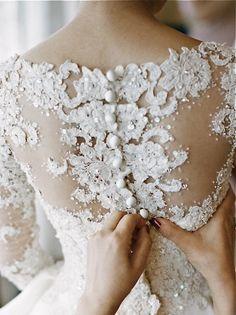 beautiful back buttoning