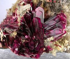 Incredible Erythrite from Aghbar Mine, Bou Azzer, Morocco Credit: ShelterRockMinerals.com