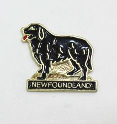 Newfoundland Dog Hat Pin or Lapel Pin Hat Pins, Newfoundland, Lapel Pins, Dog, Store, Hats, Accessories, Ebay, Diy Dog