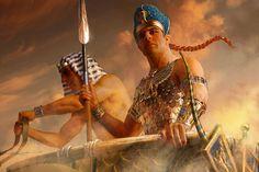 Ramses II, by Michael Komarck