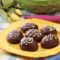 Marshmallow Easter Eggs: I made these as a kid with my mom and they're great!