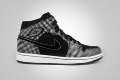 Air Jordan 1 High Polka Dot Black/White