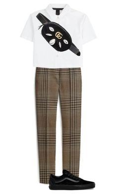 """Untitled #112"" by lazerature ❤ liked on Polyvore featuring Mulberry, Marc by Marc Jacobs, Gucci and Vans"