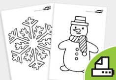 WINTER+Coloring+Pages