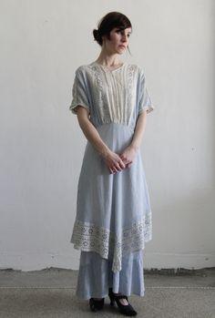 Antique Dress  Victorian Gown  Wedding  by VeraVague, $425.00