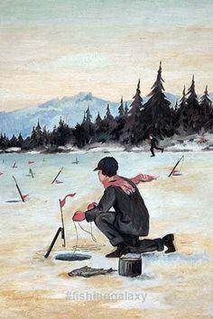 Ice Fishing Beautifull Photos. Follow us see more!