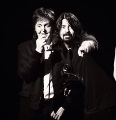 Sir Paul and Dave Grohl, holy balls, I'm done,