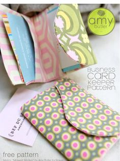 Free Patterns from Amy Butler!