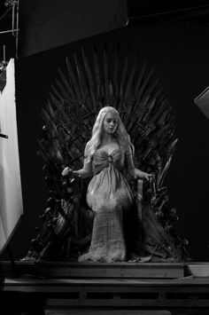 Daenerys Targaryen on the Iron Throne