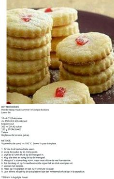 Bite Size Cookies, Tea Cookies, Best Sugar Cookies, Yummy Cookies, My Recipes, Cookie Recipes, Recipies, Dessert Recipes, Easy Biscuit Recipe