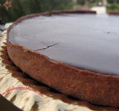 Tarte all'arancia e cioccolato | TRUCCO: bagnare superfice e spalmare zucchero!!!!!!