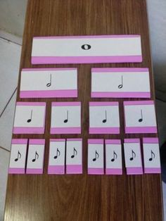 Divisão Ritmica Music For Toddlers, Music Lessons For Kids, Music Lesson Plans, Music Math, Music Classroom, Music Bulletin Boards, Music Worksheets, Music Crafts, Piano Teaching