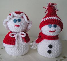 Hey, I found this really awesome Etsy listing at https://www.etsy.com/listing/171125662/snowmen-crocheted-snow-man-and-snow