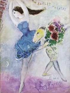 marc chagall painting ballet - Google Search