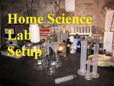 How To Set Up A Home Science Lab