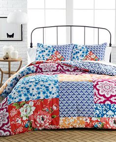CLOSEOUT! Chinoiserie 3 Piece California King Comforter Set - Bed in a Bag - Bed & Bath - Macy's