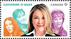 Stamp: Catherine O'Hara (Canada) (Great Canadian Comedians) Mi:CA 3166,Sn:CA 2772c,Yt:CA 3040