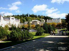 Marianske Lazne Prague Czech, European Countries, Czech Republic, Places To Visit, Spaces, House Styles, Travel, Bohemia, Europe