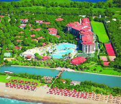 Красивый отель с большой, утопающей в зелени территорией расположен на берегу Анталийского побережья. Расстояние до Белека 3 км, до центра г. Анталья 45 км. Рядом находятся отели: Cesar's Belek, Rixos Premium Belek, Papillon Zeugma, Gloria Serenity. Отель состоит из 7 -этажного корпуса Hotel, 4 -этажного здания Garden Block, шести 2 -этажных и четырнадцати 3 -этажных Bungalow. Хорошая анимация, в течении дня проводится много спортивных мероприятий для всей семьи.