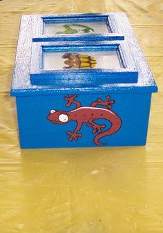 Side of treasure box