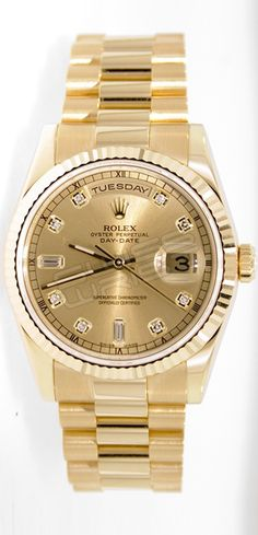 Rolex Presidential in gold - the ultimate watch (just under $20,000)