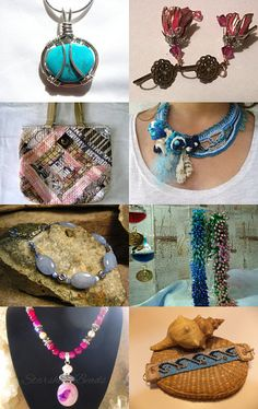 Feeling good with the blues by Julie Burkett on Etsy--Pinned with TreasuryPin.com