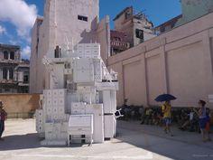 Installation auf der Biennale in Havanna 2015