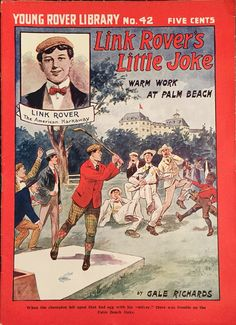 Young Rover Library magazine  1905 Golf Related Cover