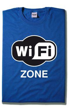 Camiseta Wifi Zone